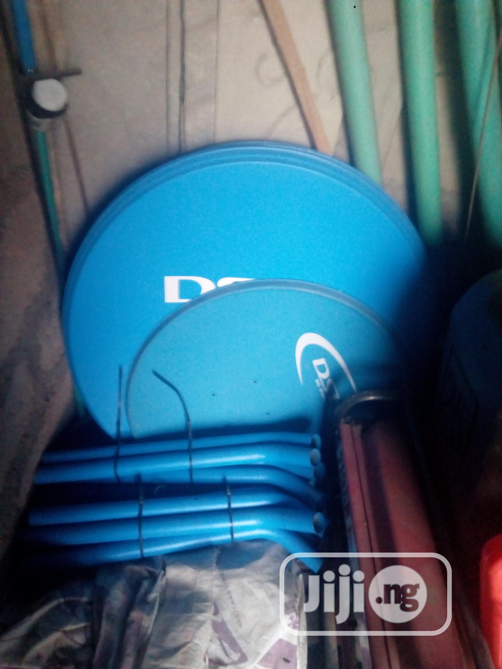 Dstv Dish(10pcs) and Satellite Accessories