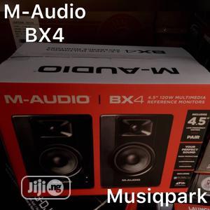 M Audio BX4 Studio Monitors | Audio & Music Equipment for sale in Lagos State, Mushin