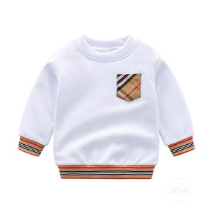 Burberry Inspired Long Sleeve Swear Shirt   Children's Clothing for sale in Lagos State, Lekki