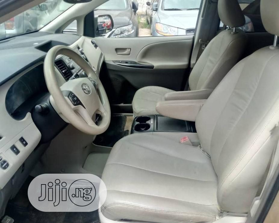 Toyota Sienna 2012 XLE 7 Passenger Gold | Cars for sale in Ojota, Lagos State, Nigeria