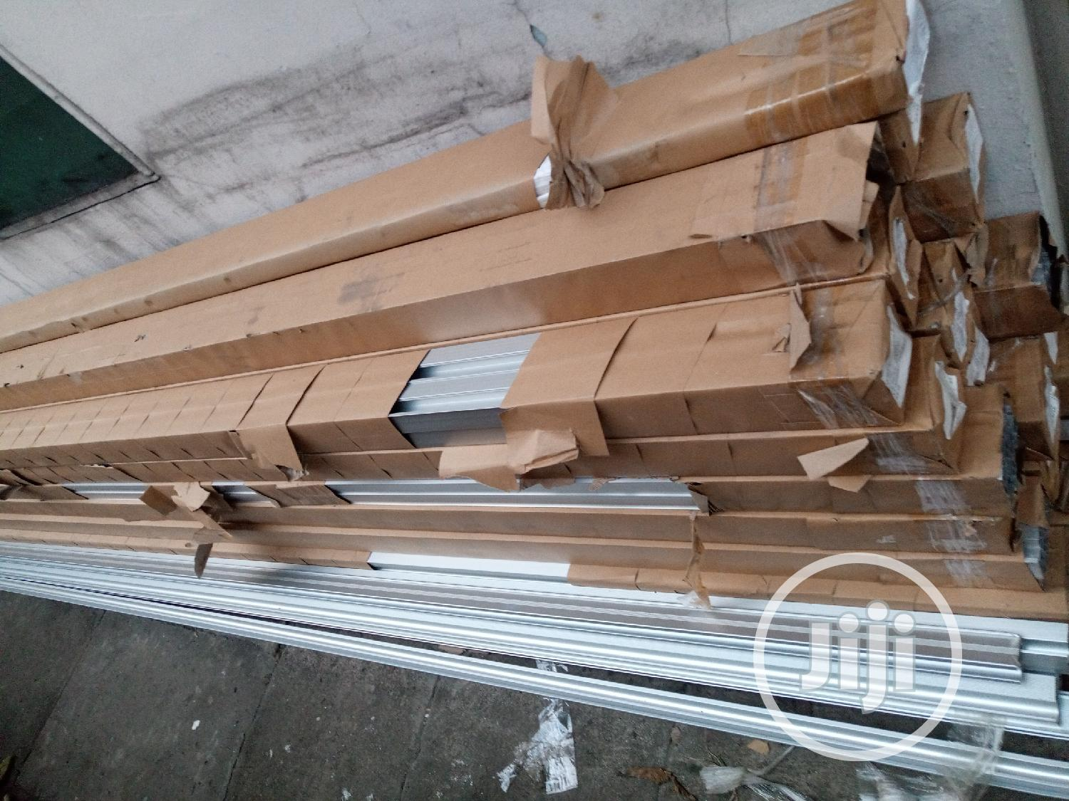 A Set of Solar Mounting Rail and Accessories (8.4 Meters)