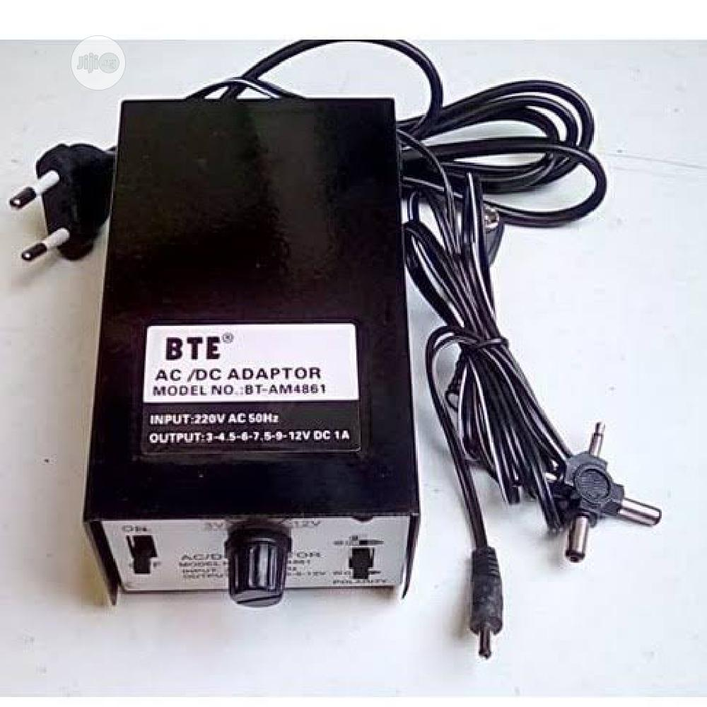 Universal BTE Ac DC Power Supply Adapter