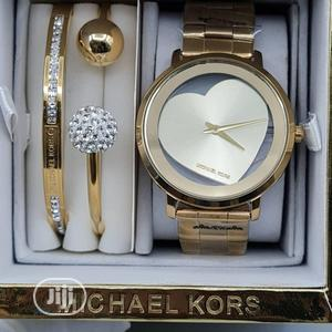 High Quality Michael Kors Silver Dial Stainless Steel Watch | Watches for sale in Lagos State, Magodo