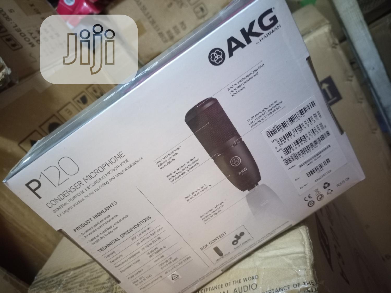 Akg Studio Mic P120   Audio & Music Equipment for sale in Ikeja, Lagos State, Nigeria