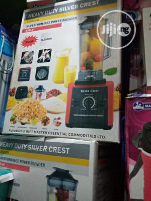 Silvercrest Commercial Blender 3000w   Kitchen Appliances for sale in Lagos State, Lagos Island (Eko)