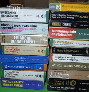Books on Mathematics , Management, Economics, Finance   Books & Games for sale in Lagos State, Yaba