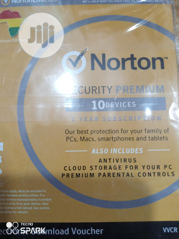 Norton Security Premium 10devices