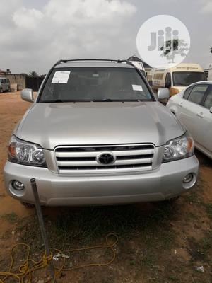 Toyota Highlander 2007 Silver   Cars for sale in Lagos State, Alimosho