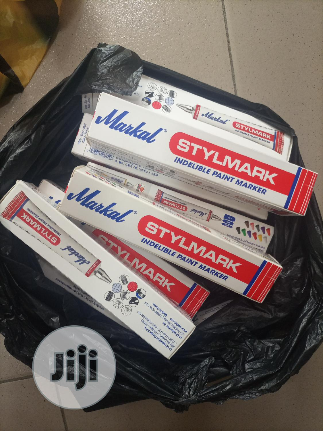 Indelible Paint Marker(Stylmark) | Stationery for sale in Port-Harcourt, Rivers State, Nigeria