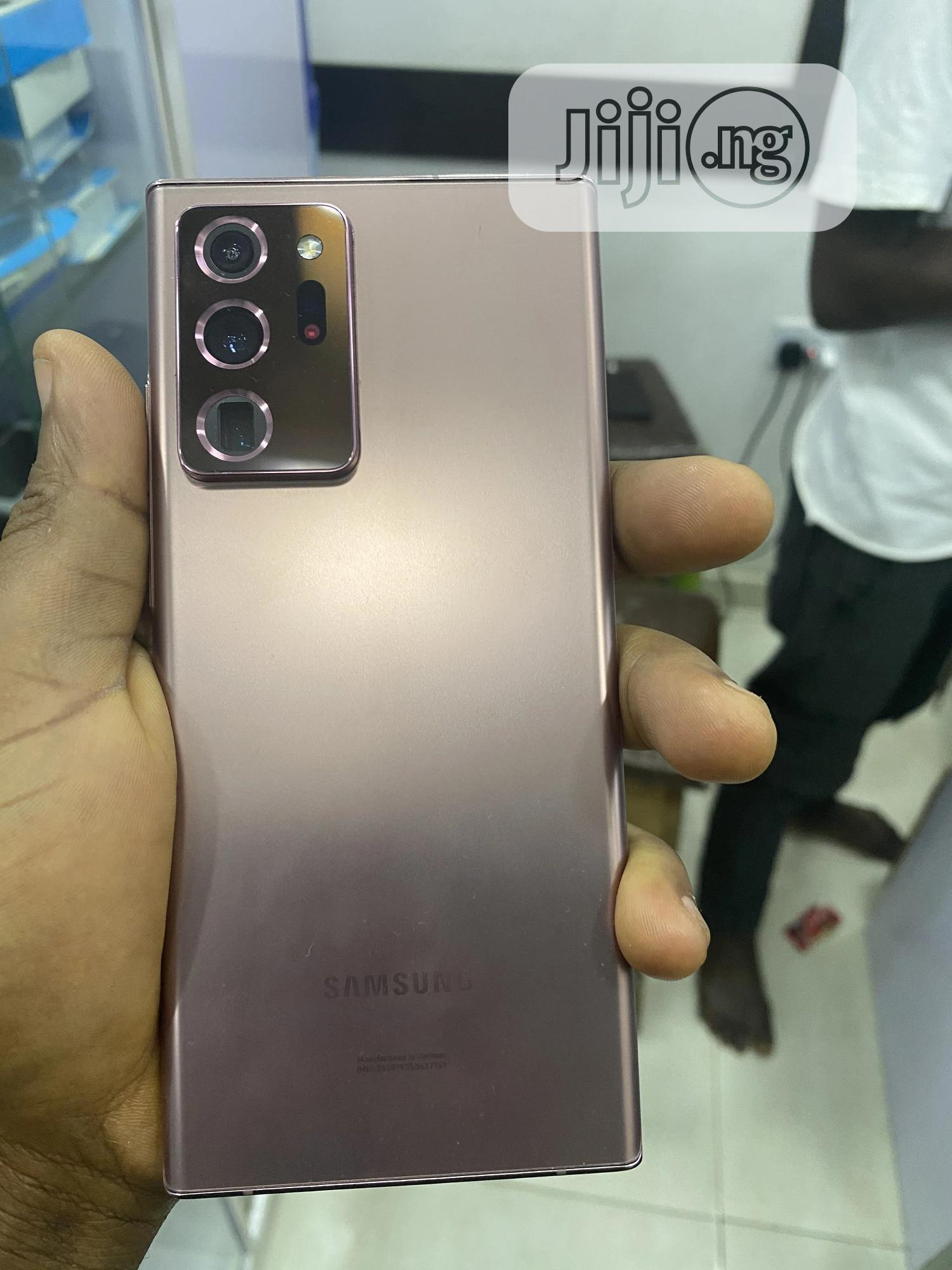 New Samsung Galaxy Note 20 Ultra 128 GB Gold | Mobile Phones for sale in Ikeja, Lagos State, Nigeria