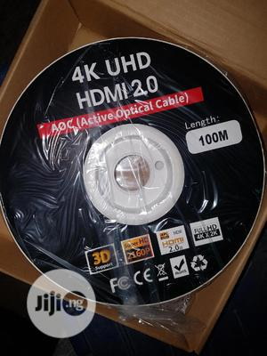 HDMI Cable 4k X 2k Ultra HD 100 Metres | Accessories & Supplies for Electronics for sale in Lagos State, Ojo