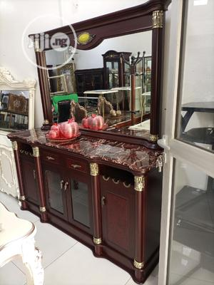 Dining Cabinet With Mirror | Furniture for sale in Abuja (FCT) State, Maitama