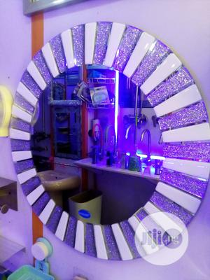 Fancy Round Wall Mirror | Home Accessories for sale in Lagos State, Amuwo-Odofin