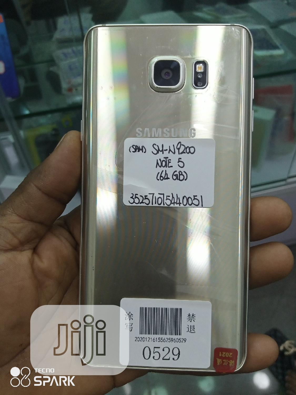 Samsung Galaxy Note 5 64 GB Gold