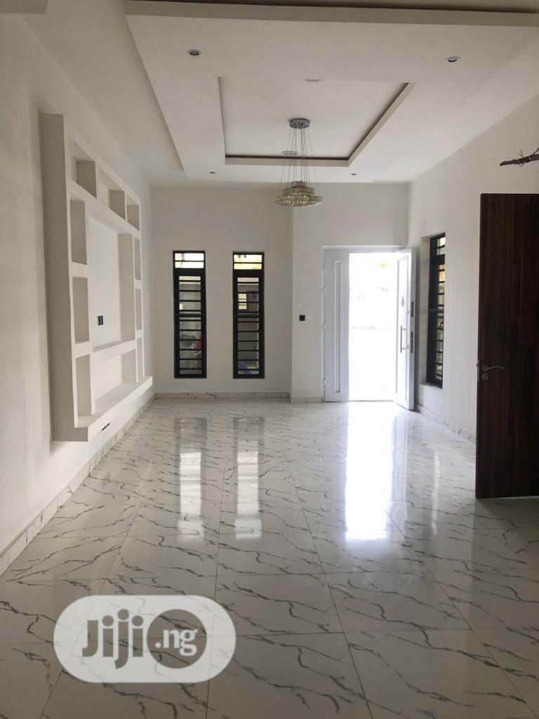 Neatly Built 5bedroom Fully Detached Duplex With Bq | Houses & Apartments For Sale for sale in Chevron, Lekki, Nigeria