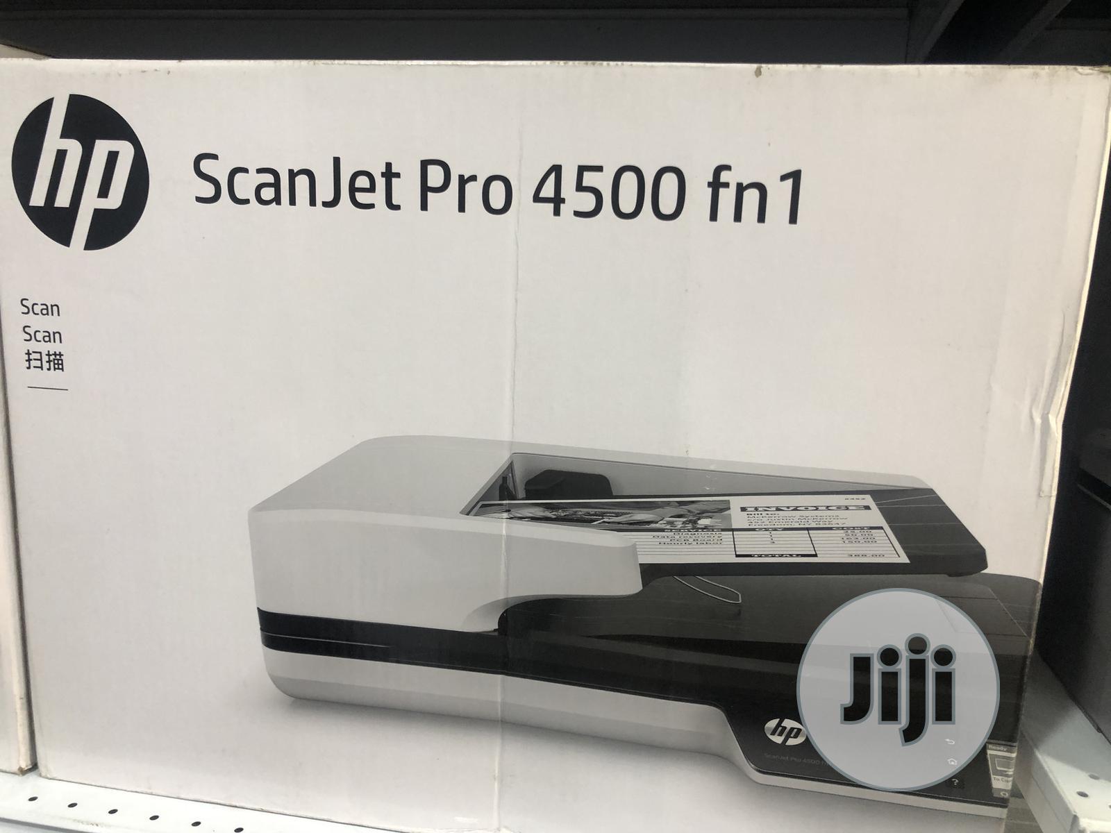 HP Scanner 4500 Fn1