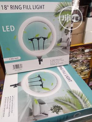18 Inches Auto Filter Ringlight With Remote Control   Accessories & Supplies for Electronics for sale in Lagos State, Amuwo-Odofin