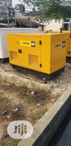 Cat Mantrac 22kva Perkins Soundproof Diesel Generator   Electrical Equipment for sale in Rivers State, Port-Harcourt