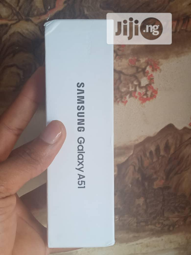 New Samsung Galaxy A51 128 GB Silver | Mobile Phones for sale in Ikeja, Lagos State, Nigeria
