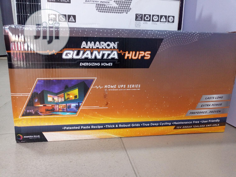 12v200ah Amaron Quanta HUPS Battery