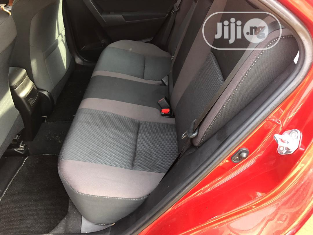 Toyota Corolla 2018 LE (1.8L 4cyl 2A) Red | Cars for sale in Ajah, Lagos State, Nigeria