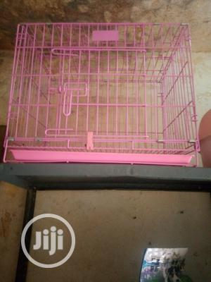 Dog Metal Cage With Underneath Tray   Pet's Accessories for sale in Abuja (FCT) State, Utako