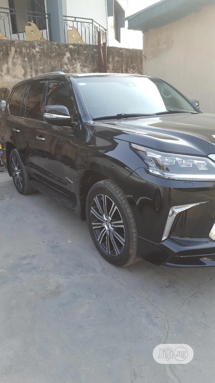 New Lexus LX 2019 570 Three-Row Black   Cars for sale in Amuwo-Odofin, Lagos State, Nigeria