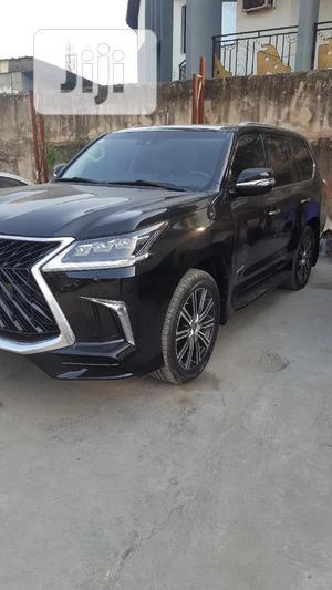New Lexus LX 2019 570 Three-Row Black | Cars for sale in Lagos State, Amuwo-Odofin