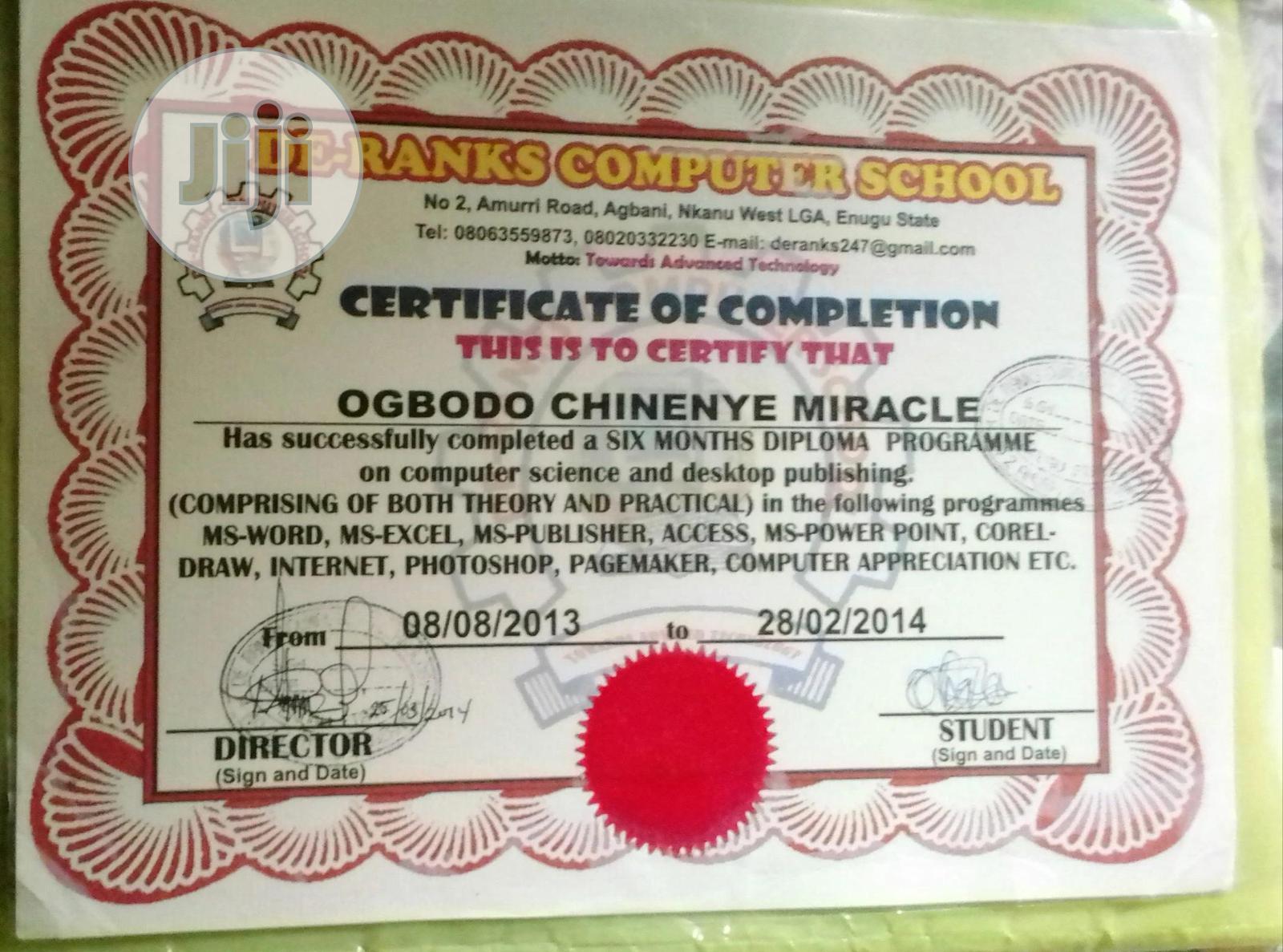 Internship CV   Internship CVs for sale in Enugu, Enugu State, Nigeria