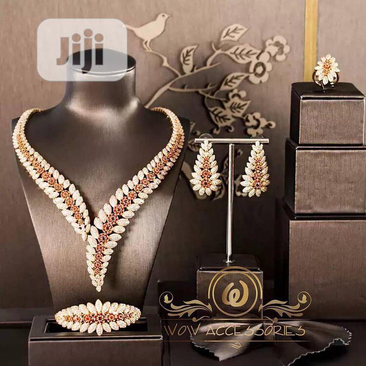 Cubic Zirconia 4piece Jewelry Sef