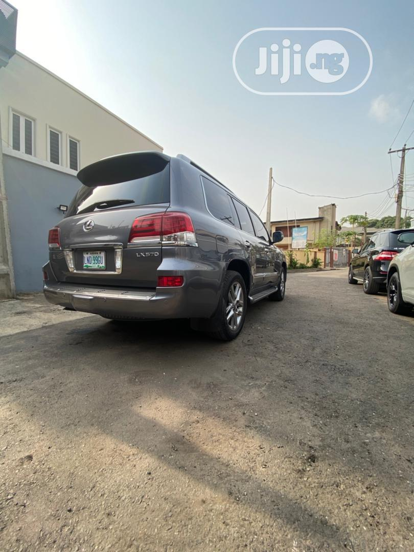 Lexus LX 2013 570 Base Gray | Cars for sale in Ikeja, Lagos State, Nigeria