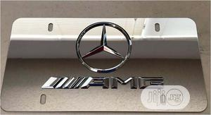 Car 3D Logo Chrome Steel License Plate   Vehicle Parts & Accessories for sale in Lagos State, Surulere