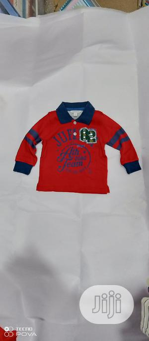 Boys Long Sleeve Polo Neck Tops   Children's Clothing for sale in Lagos State, Yaba