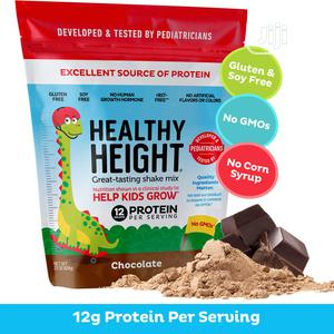 Healthy Height 593g Protein Powder Chocolate(Help Kids Grow)   Vitamins & Supplements for sale in Lagos State, Amuwo-Odofin
