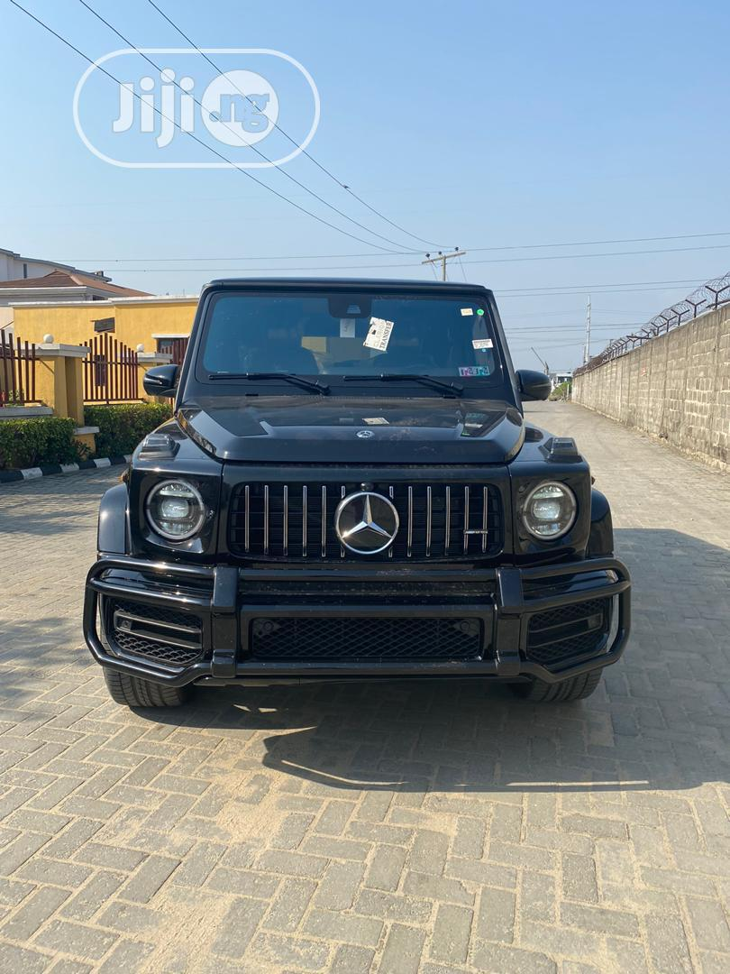 Mercedes-Benz G-Class 2019 Base G 550 AWD Black | Cars for sale in Lekki, Lagos State, Nigeria