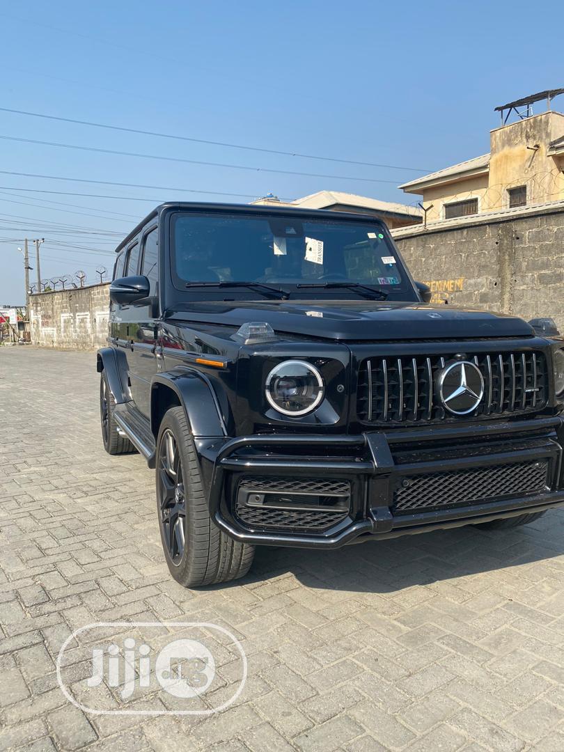 Mercedes-Benz G-Class 2019 Base G 550 AWD Black