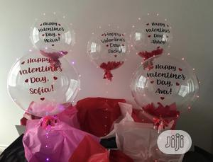 Valebirthday Party Helium LED Bobo Balloon Bubble Balloons   Home Accessories for sale in Lagos State, Lekki