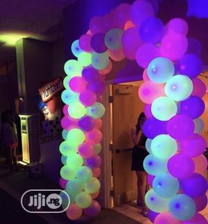 Birthday Party LED Latex Glow IN the Dark Balloon   Home Accessories for sale in Lagos State, Lekki