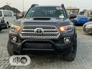 Toyota Tacoma 2016 4dr Double Cab Gray | Cars for sale in Lagos State, Lekki