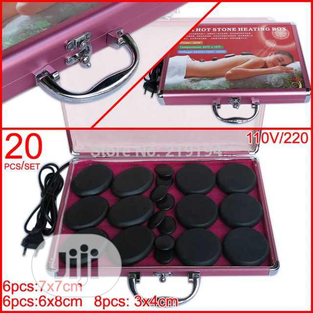 Hot Stone Massage Stone Spa Therapy Basalt Stone | Tools & Accessories for sale in Central Business Dis, Abuja (FCT) State, Nigeria