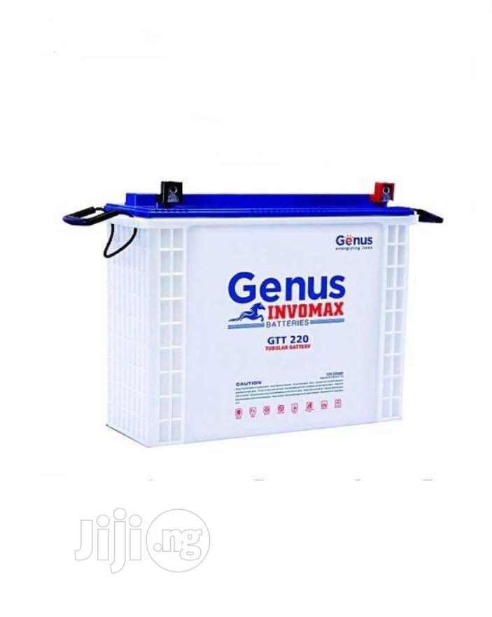 Genus Tubular Battery 220ah/12v Invomax Wetcell