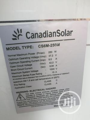 Fast Charging 250W Canadian Solar Panels   Solar Energy for sale in Lagos State, Victoria Island