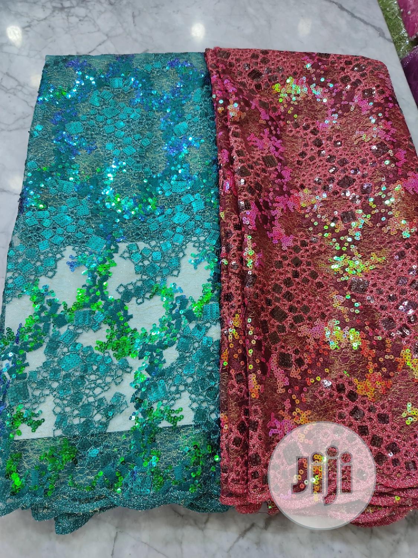 Super Quality Lace Fabrics.