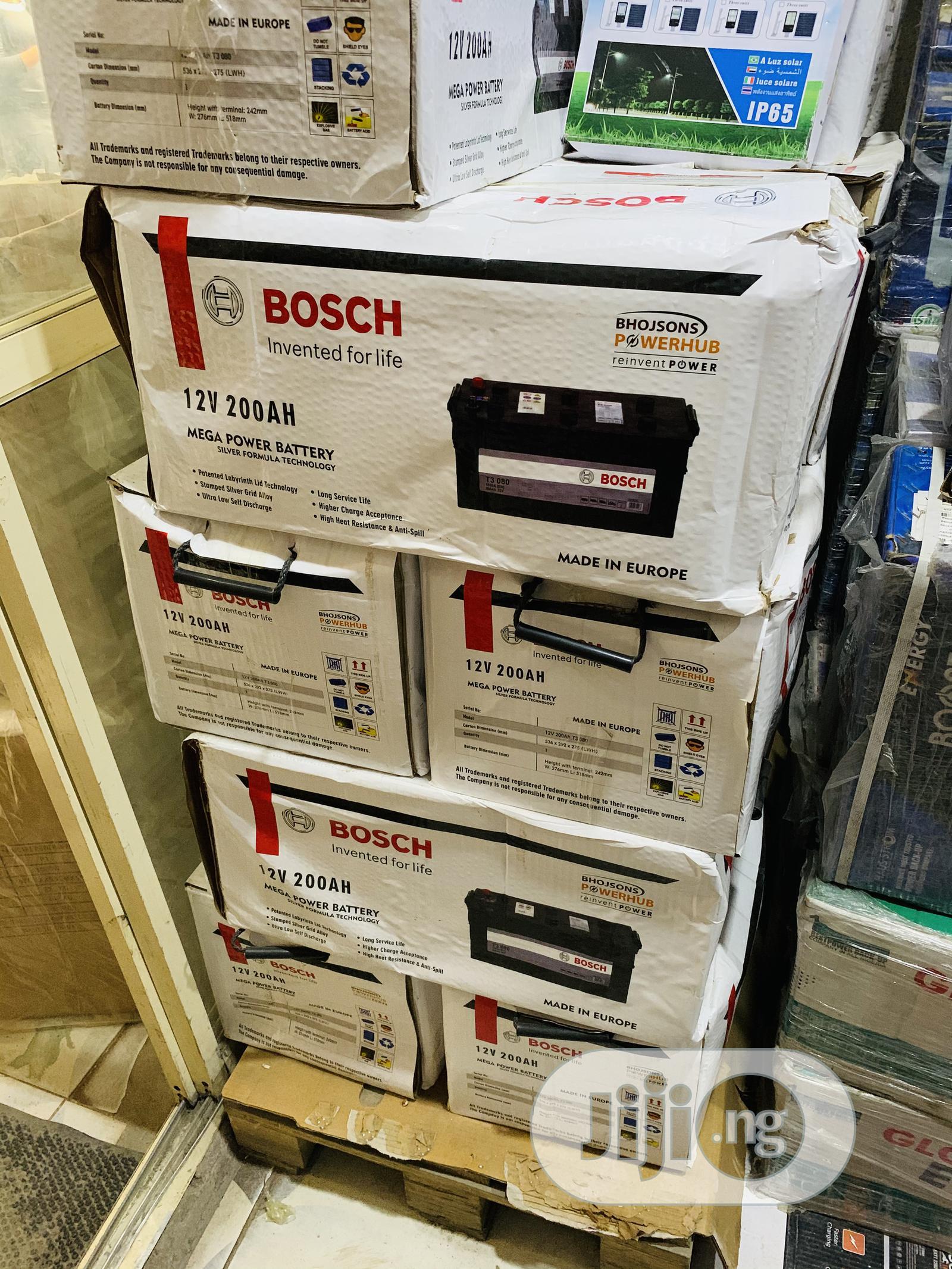 200ah 12v Bosch Deep Cyle Battery