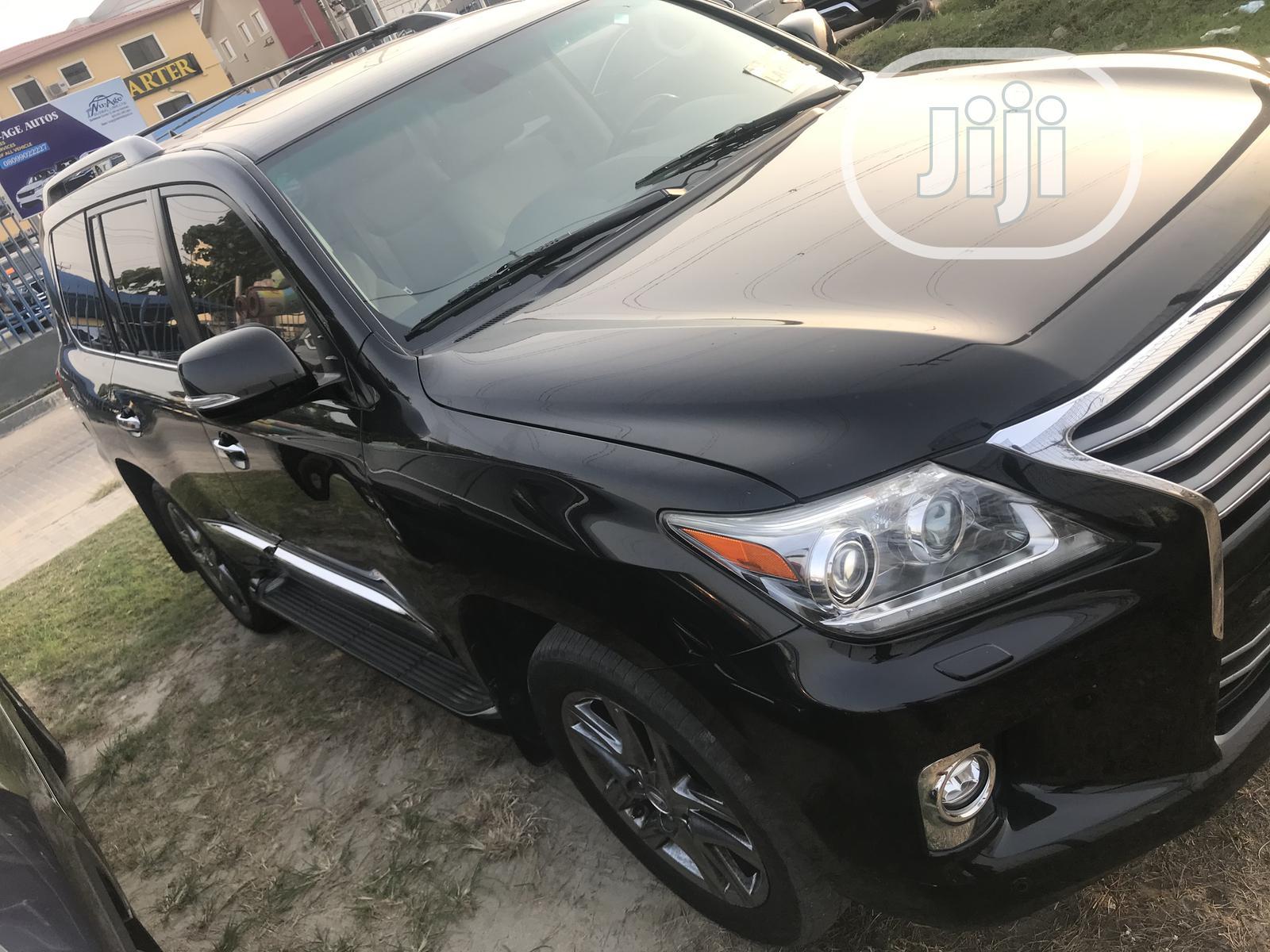 Lexus LX 2014 570 Base Black | Cars for sale in Lekki, Lagos State, Nigeria