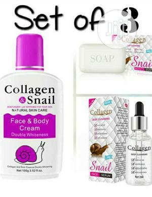 Collagen Snail 3 in 1 | Skin Care for sale in Lagos State, Amuwo-Odofin