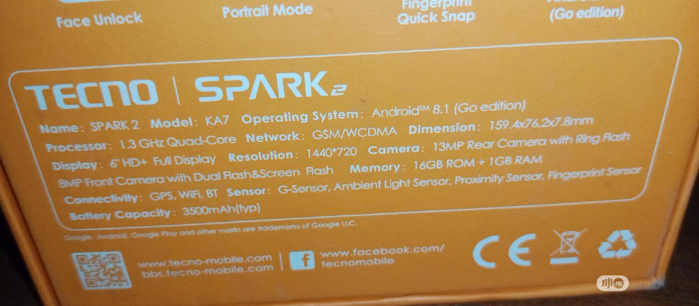 Archive: Tecno Spark 2 16 GB Gold