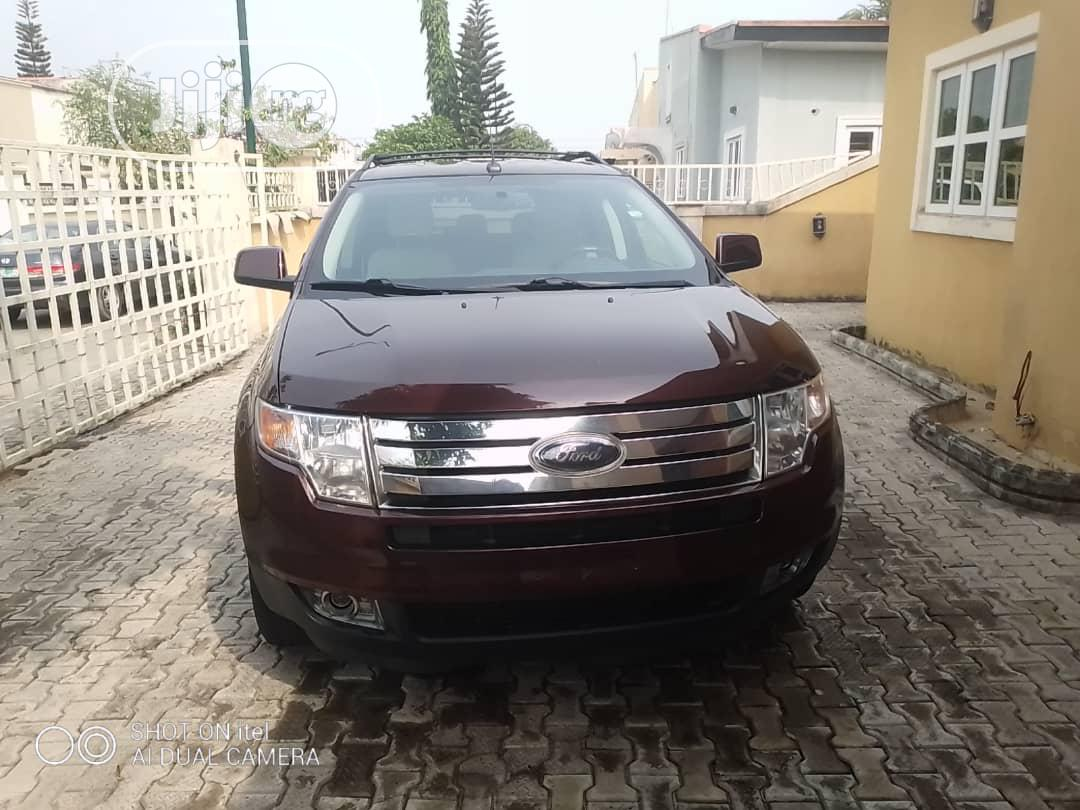 Ford Edge 2010 Brown