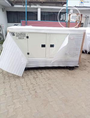 30 Kva Perkins Soundproof Diesel Generator | Electrical Equipment for sale in Lagos State, Ojo