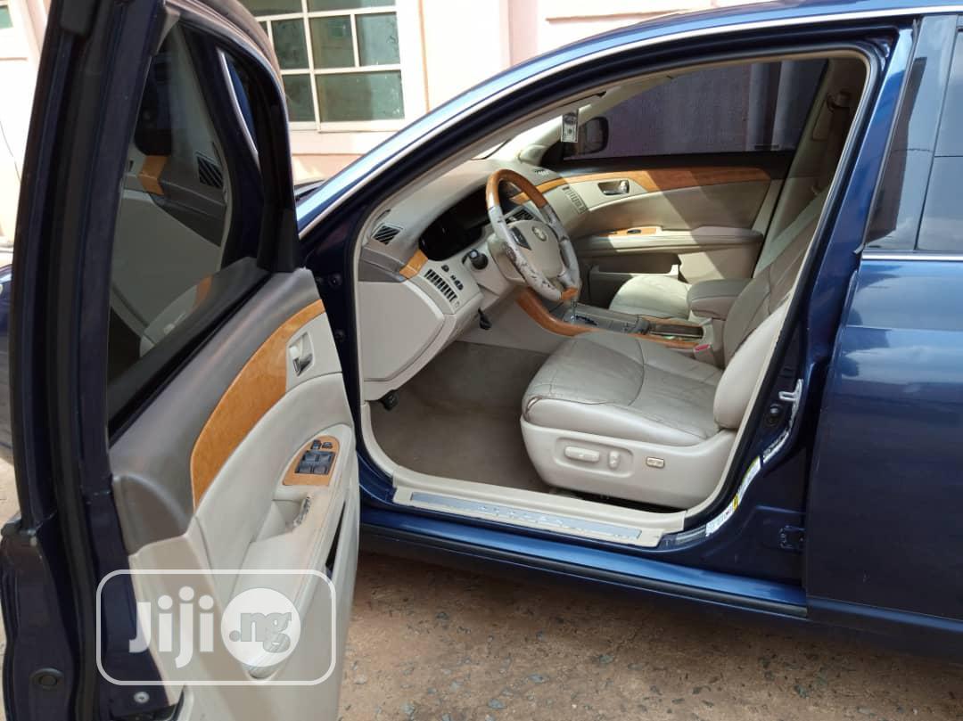 Archive: Toyota Avalon 2007 XLS Blue